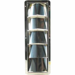 Ribbeventil i rustfrit stål - 2