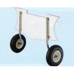 Transport hjulsæt - til gummibåd - 1