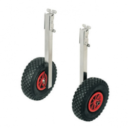 Foldbart transport hjulsæt - til gummibåd - 1