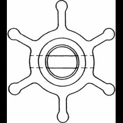 Dæksel til patent dæksforskruninger vand