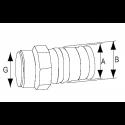 Polyform fender G-serie hvid