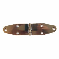Hængsel i rustfrit stål bredde 90x90x40 mm - 1