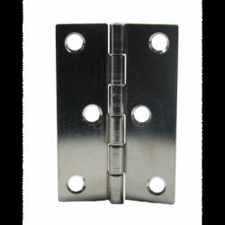 Bladhængsel i rustfrit stål længde 77 mm - 1