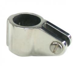 Kalechebeslag glide i rustfrit stål kraftig model 25mm - 1