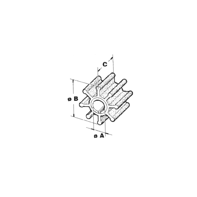 Impel Yamaha/Mariner 6H4-44352 - 1