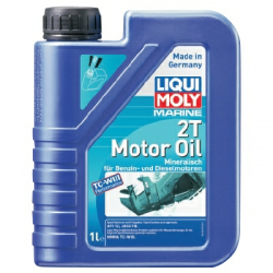 Liqui Moly 2T Fully Synthetic Marine Motorolie - 1