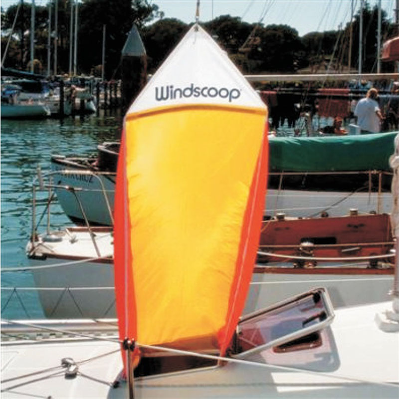 Davis Windscoop ventilationssejl - 1