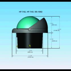 Aqua Signal dækslys