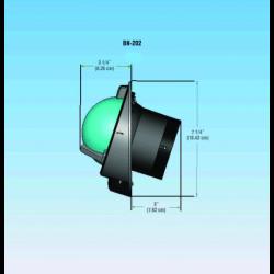 Lampe m/bajonetsokkel 12V