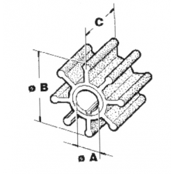 Impel Johnson/Suzuki CEF-nr. 500367, 17461-94511 - 1