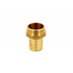 """Brass hose pillar G 1/4""""- 16 mm"""
