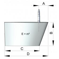 Set (2 pieces) fins