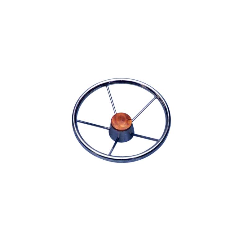 Rat i rustfrit stål med 5 egre - 1