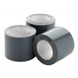 Self-adhesive tape, white roll of 30 m