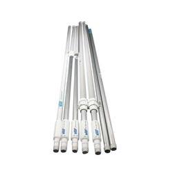 Vikan skaft i aluminium med vandgennemløb, ergonomisk - 1