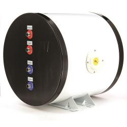 Twin coil calorifier, 25 liter.