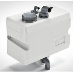 VETUS bulkhead mounted waste water tank 25 litre, horizontal version