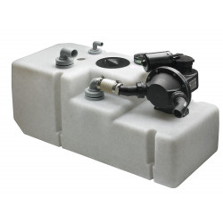 VETUS waste water tank system 120 litre, incl. 24 Volt pump & sensor