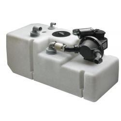 VETUS waste water tank system 88 litre, incl. 12 Volt pump & sensor