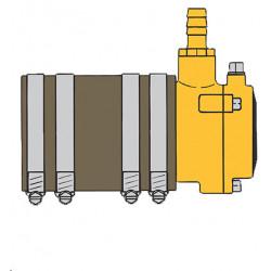 Vetus udskiftningssæt til VETUS 25 mm inderleje med pakdåse - 1