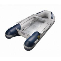 """VETUS boat """"Explorer"""" 3,3m. alu deck grey and blue - 1"""