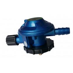 Gas regulator m.omløber IC-gaz blå flaske t/Dk slange - 1