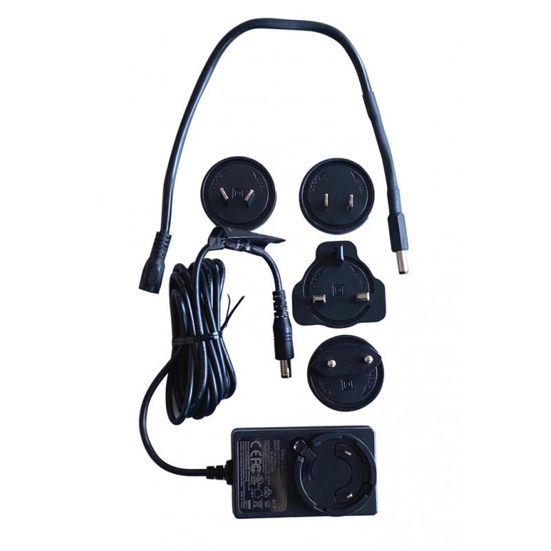 Batterilader 220V til El luftpumpe - 12V, BST800 Battery - 1