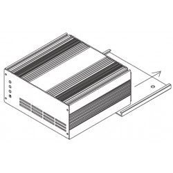 Monteringsplade Tystor soft 1210 og 1218 batterilader - 2