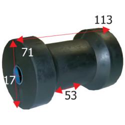 Kølrulle længde 113 mm