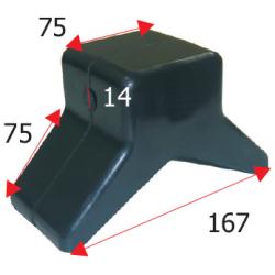 Stævnstøtte 13mm - 1