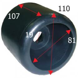Siderulle bredde 110 mm højde 107 mm - 1