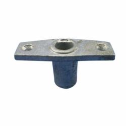 Galvaniseret bøsning, topmonteret - 1