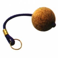 Nøglering med korkbold - 1