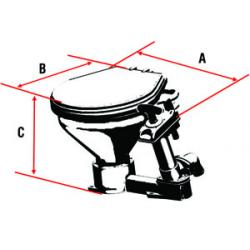 Nuova Rade manuelt toilet - 1