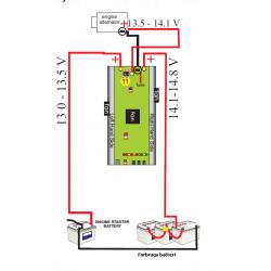Generator-til-batteri lader - 2