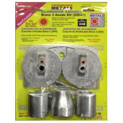 Aluminiums anodekit Bravo 3 - 1