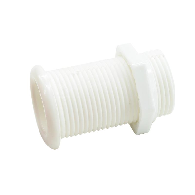 Skroggennemføring hvid plast CE godkendt - 1