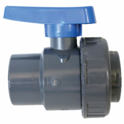 Kugleventil i PVC - 1