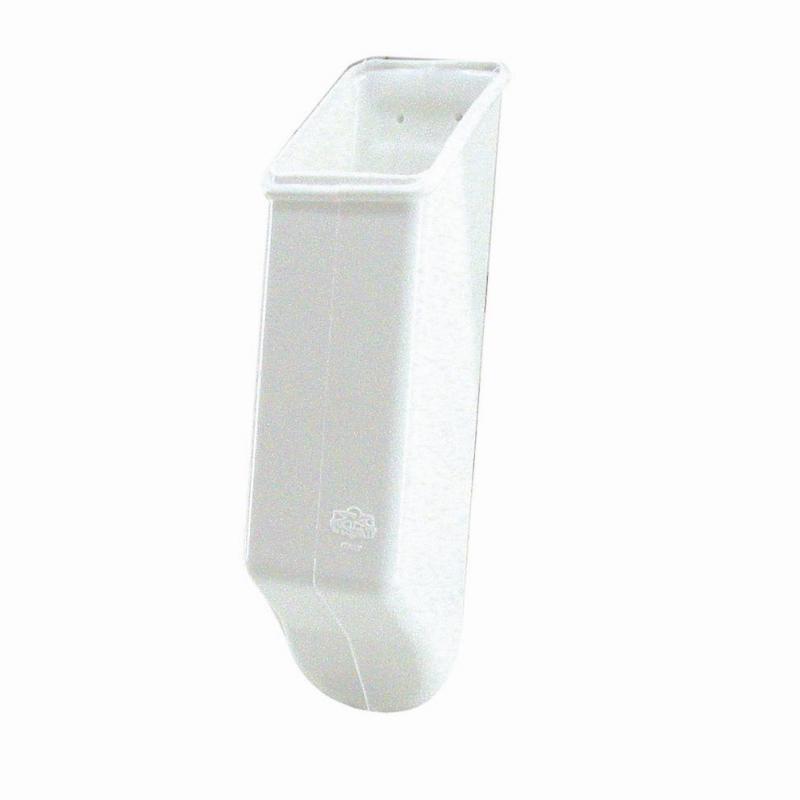 Ankerskede - Hvid plast - 1