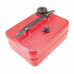 Brændstoftank, rød plast - 1