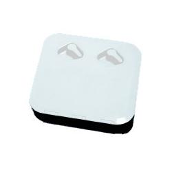 Sekskantsnippel Udv./udv. rustfri stål AISI 316