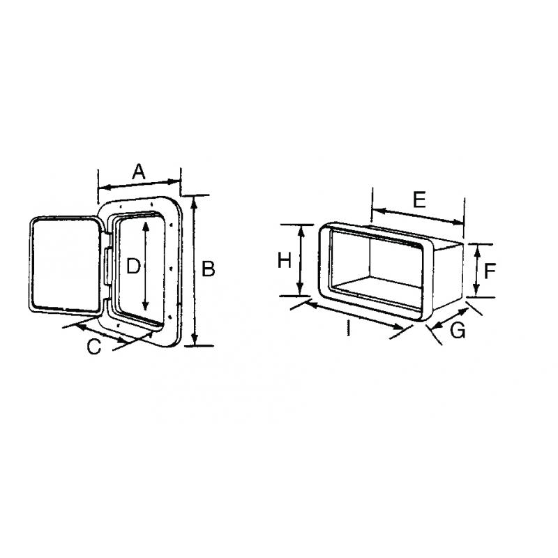 T-rør rustfri stål AISI 316