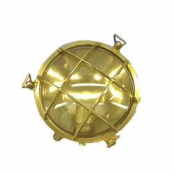 Skotlampe, rund, kantmontering - 1