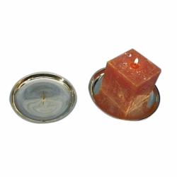 Lysestage til bloklys eller kuglelys - 1