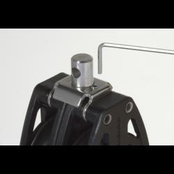 Violinblok med hundsvot og frølår 8 mm - 2
