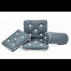 Kapokpuder, grå - 1