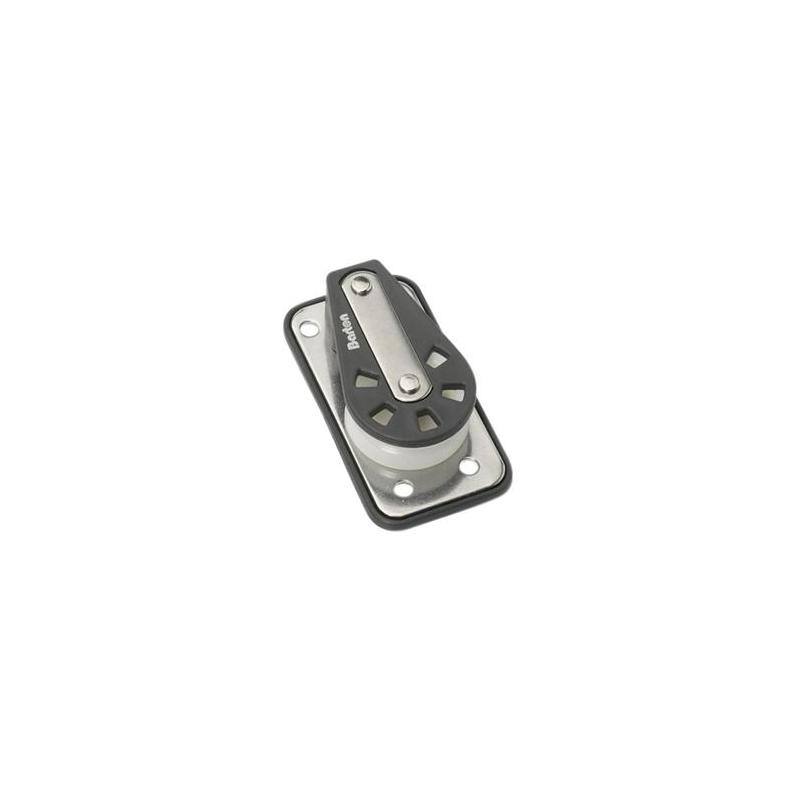 Fald- og dæksblok med kuglelejer og bagplade - 1