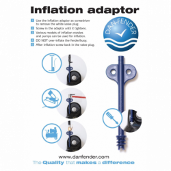 Danfender Adapter og Ventil Kit