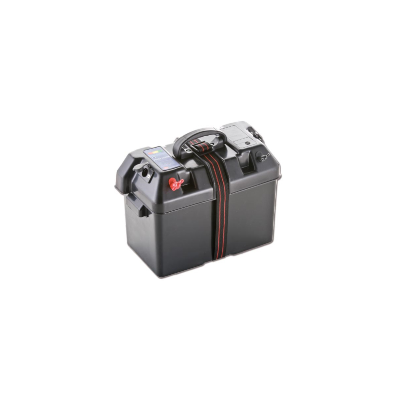 Batteriboks med udtag og hank - 1