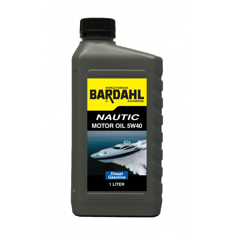 Bardahl Nautic Motorolie 5W40 - 1